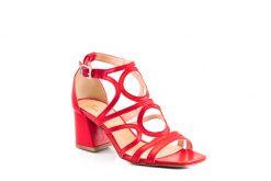 2356 sandalo nappa rosso a